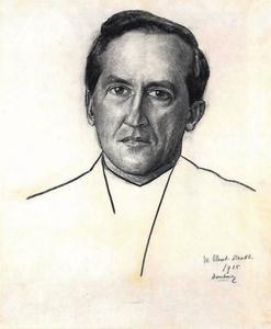 Portret van Piet Mondriaan (1872-1944)