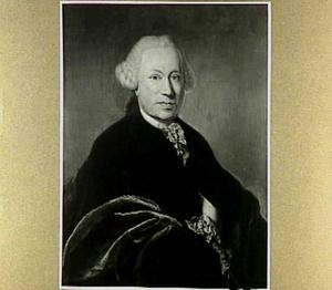 Portret van Abraham Ludolph van Mansvelt (1717-1762)