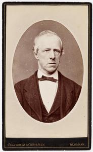 Portret van Pieter van Leeuwen (1828-1883)