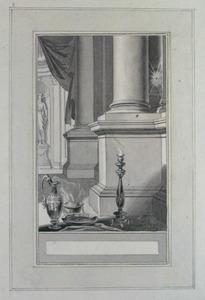 Illustratie bij 'De vlieg' uit de Fabelen en vertelsels van F.C. Gellert