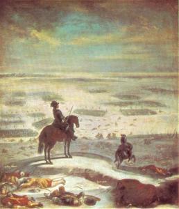 Karl X Gustav bij de Kleine Belt