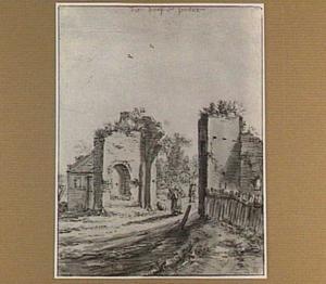 Utrecht, ruïne van de Doofpoort