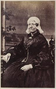 Portret van een vrouw uit familie Tulleners