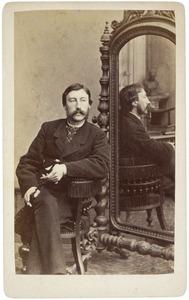 Portret van Rudolf August Alexander Eduard von Pestel (1838-1923)