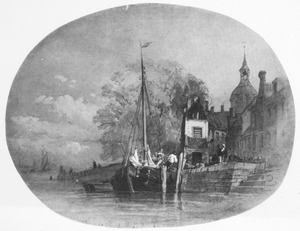 Kade in Dordrecht
