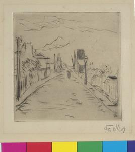 Landweg in Gentilly