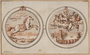 Allegorie op de dood van Willem II, 1650