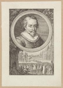 Portret van Reinier van Oldenbarnevelt (....-1623)