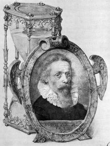 Zelfportret van Georg Flegel (1565/66-1638)