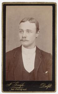 Portret van Heble Lambertus van Tets (1866-1931)