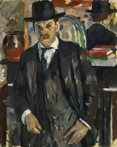Portrtet van de Franse kunstschilder Simon-Lévy (1886-1973)