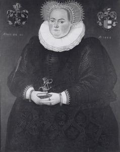 Portret van Johanna Elisabeth Ripperda