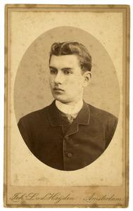 Portret van dhr. Boursse