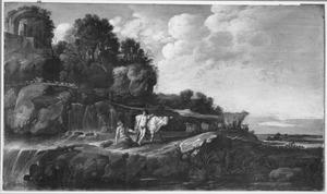 Landschap met Mercurius, Argus en Io (Ovidius, Metamorfosen)