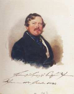 Portret van Bernhard Herzog von Saksen-Weimar-Eisenach (1792-1862)