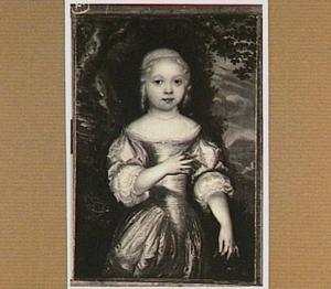 Portret van Elisabeth Slingelandt (1671-1695)
