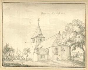 Kerk van Bimmen gezien vanuit het zuidoosten