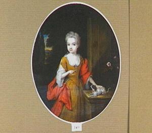 Portret van Henriette Bentinck, de latere Gravin van Clan Brasill, als kind