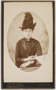 Portret van Joanna Jacoba Francisca Malmberg (1868-1920)
