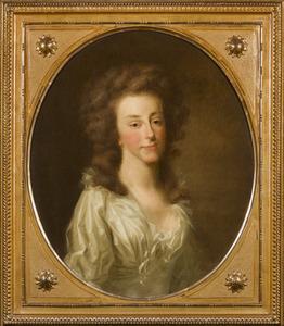 Portret of Louise van Oranje- Nassau (1770-1819)