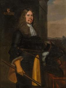 Portret van Alexander des H.R. Rijksbaron van Spaen (1619-1692)