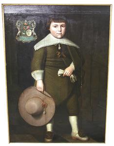 Portret van een jongen, genaamd Jan Lampsins (1629-1695)