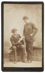 Portret van Otto baron van Hogendorp (1858-1936) en Willem Frederik Hendrik graaf van Limburg Stirum (1866-1925)