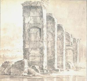 Het aquaduct te Beaunant over de l'Yzeron
