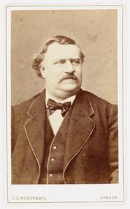 Portret van Ludovicus Franciscus Theodorus Henricus Joannes van Lamsweerde (1824-1896)