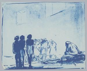 Wanneer Benjamin voor hem gebracht wordt barst Jozef in huilen uit (Genesis 43:29-30)