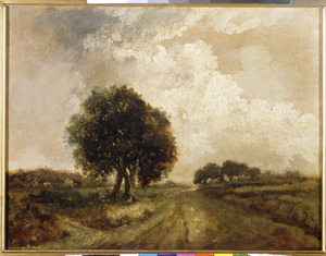 Groep van drie bomen