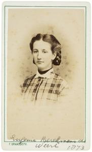 Portret van Eugenie Marie Berckmans de Weert (1857-1937)