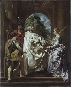De heiligen Gregorius, Domitilla, Maurus en Papianus
