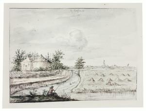 Landschap bij Hasselt