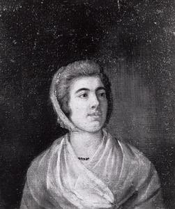 Portret van E. Gray