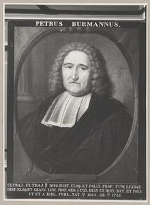 Portret van Petrus Burman (1668-1741)