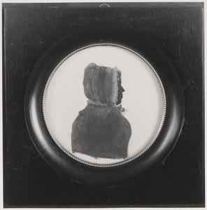 Portret van Catharina Maria Justina van Dam (1804-1878)
