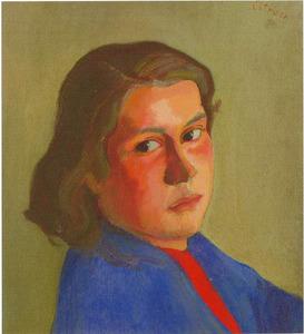 Portret van Petra van Leeuwen (1920-....)