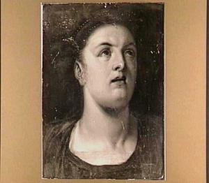 Hoofd van een vrouw (Lucretia?)