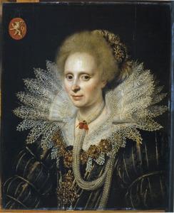 Portret van een vrouw uit de familie Van Beyeren van Schagen