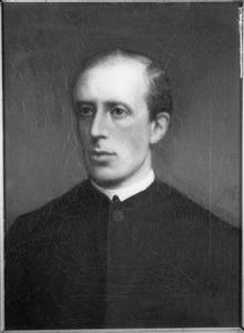 Portret van H.F. Akersloot, professor op het Groot Seminarie te Warmond 1881-1884