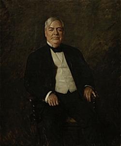 Portret van William Rockhill Nelson