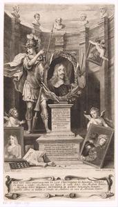 Allegorisch portret van Leopold Wilhelm Erzherzog von Österreich (1614-1662)