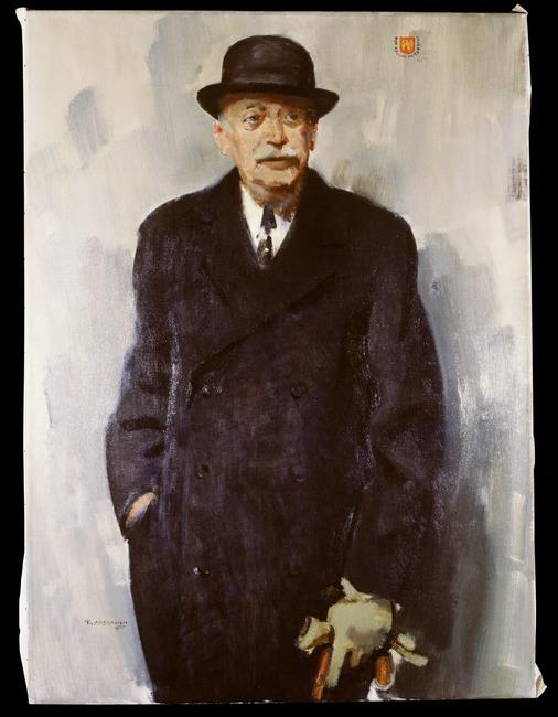 Portret van Edzard Karel Gustaaf Falck (1884-1963)