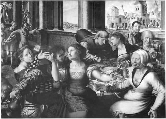 "<a class=""recordlink artists"" href=""/explore/artists/37345"" title=""Jan van Hemessen""><span class=""text"">Jan van Hemessen</span></a> en <a class=""recordlink artists"" href=""/explore/artists/121005"" title=""Meester van Paulus en Barnabas""><span class=""text"">Meester van Paulus en Barnabas</span></a>"