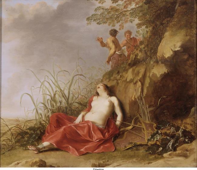 "<a class=""recordlink artists"" href=""/explore/artists/50377"" title=""Dirck van der Lisse""><span class=""text"">Dirck van der Lisse</span></a>"