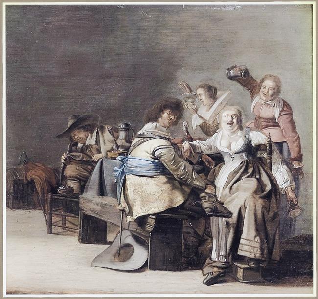 "manner of/circle of <a class=""recordlink artists"" href=""/explore/artists/17452"" title=""Pieter Codde""><span class=""text"">Pieter Codde</span></a>"