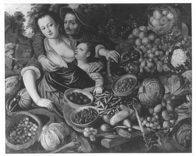"""attributed to <a class=""""recordlink artists"""" href=""""/explore/artists/63452"""" title=""""Magdalena Pietersz.""""><span class=""""text"""">Magdalena Pietersz.</span></a> after <a class=""""recordlink artists"""" href=""""/explore/artists/7836"""" title=""""Joachim Beuckelaer""""><span class=""""text"""">Joachim Beuckelaer</span></a>"""
