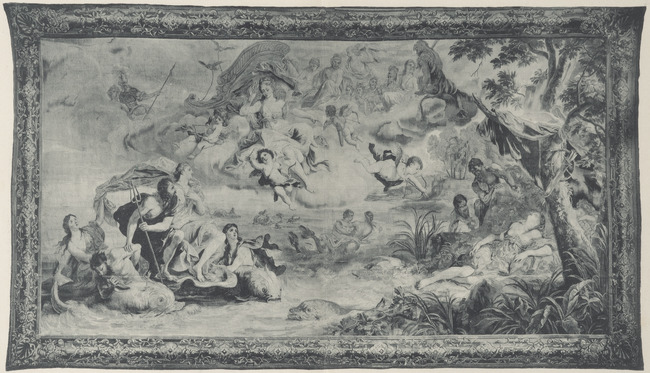 """tapestry workshop of <a class=""""recordlink artists"""" href=""""/explore/artists/457093"""" title=""""Reydams (wandtapijtweverij)""""><span class=""""text"""">Reydams (wandtapijtweverij)</span></a> and <a class=""""recordlink artists"""" href=""""/explore/artists/458537"""" title=""""Leyniers (wandtapijtweverij)""""><span class=""""text"""">Leyniers (wandtapijtweverij)</span></a> after design of <a class=""""recordlink artists"""" href=""""/explore/artists/60939"""" title=""""Jan van Orley (II)""""><span class=""""text"""">Jan van Orley (II)</span></a> and after design by <a class=""""recordlink artists"""" href=""""/explore/artists/18229"""" title=""""Augustin Coppens""""><span class=""""text"""">Augustin Coppens</span></a>"""
