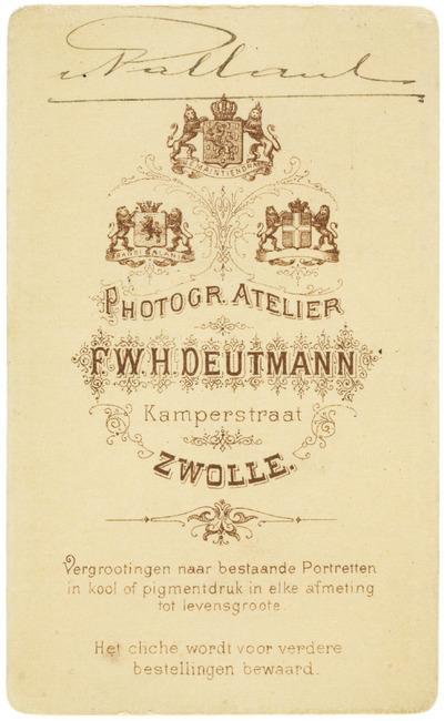 """<a class=""""recordlink artists"""" href=""""/explore/artists/417392"""" title=""""Franz Wilhelm Heinrich Deutmann""""><span class=""""text"""">Franz Wilhelm Heinrich Deutmann</span></a>"""